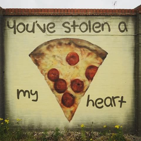 pizza graffiti