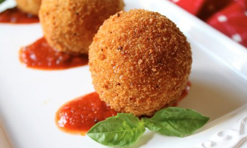 Now Serving Incredibly Yummy Cheesy Chorizo Balls