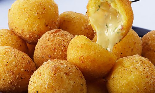 Cheesy Wonders! Now Serving Triple Cheesy Balls. Seriously.