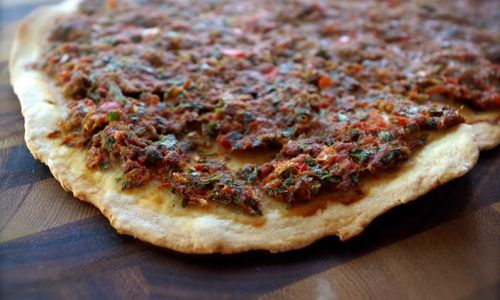 Delicious Lahembajin: The Irresistible Lebanese Meat Pizza