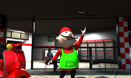 Manoosh 3D – The Oosh Man Enters a New Dimension