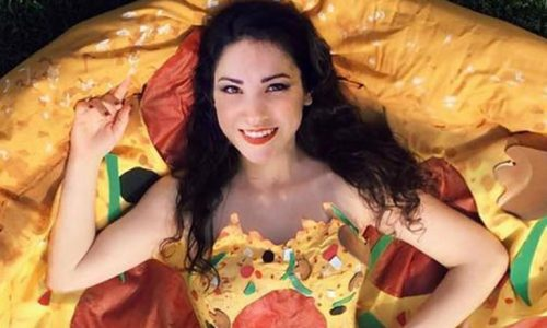 This Costume Designer Made a Pizza Dress Fit For a Queen