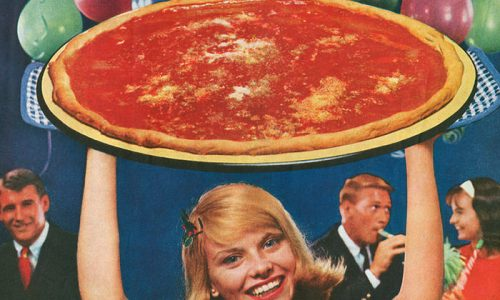 Retro Pizza Ads That Have Aged Both Wonderfully and Horribly
