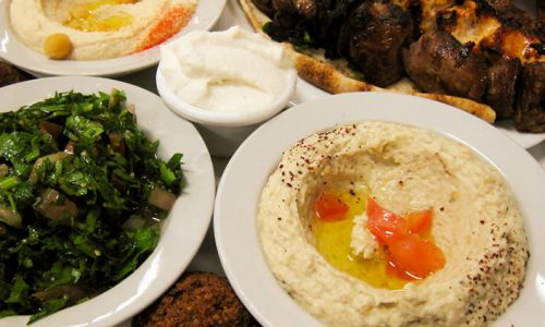 History of Lebanese food